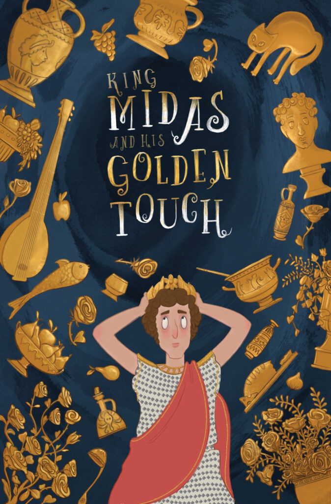 King Midas Chapter book cover
