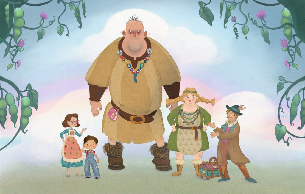Jack and the bean stalk - Character Line up